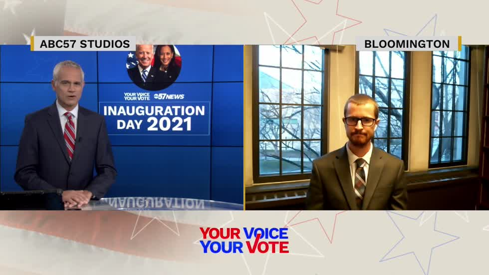 Political expert discusses Inauguration Day for President Joe...